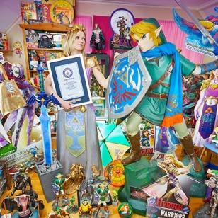 Guinness World Records Zelda-kokoelma