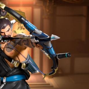 Hanzo patsas Overwatch isossa kuvassa