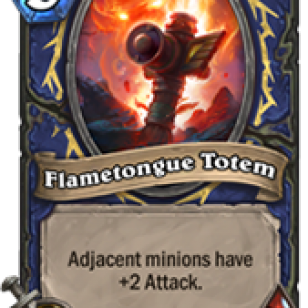 Hearthstone Flametongue Totem.png