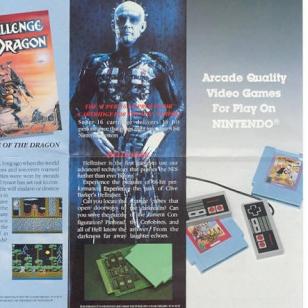 Hellraiser NES-mainos