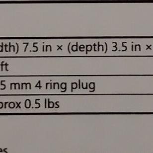 HORI Gaming Headset Pro_tekniset tiedot