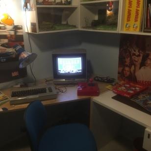 Huone suoraan 1980-luvulta