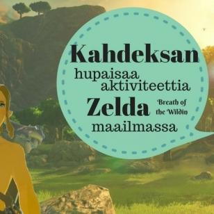 The Legend of Zelda Breath of the Wild artikkelikuva aktiviteeteista