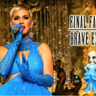 Katy Perry Final Fantasy Brave Exvius
