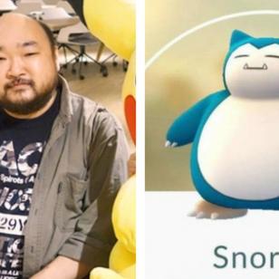 Koji Nishino Snorlax kaksi marjaa