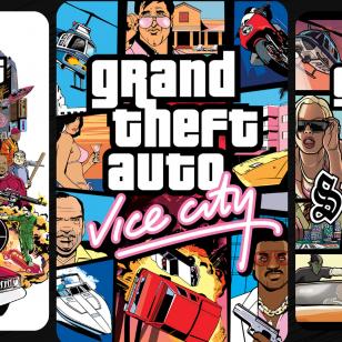 Kolme Grand Theft Auto -peliä GTA-kolmikko