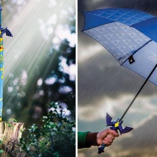 Legend of Zelda Master Sword Umbrella