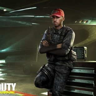 Lewis Hamilton Call of Duty: Infinite Warfare