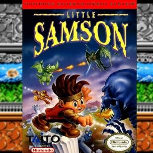 Little Samson banneri NES Retromuistelot