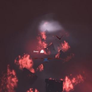 Yksi pelin quick time eventeistä, joista ei vauhtia puutu