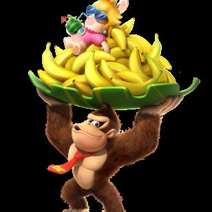 Mario Rabbids Kingdom Battle Donkey Kong promokuva