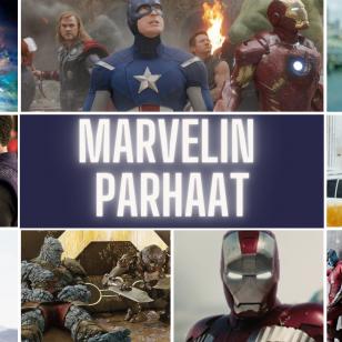 Marvelin parhaat MCU nostokuva toimitus valitsee