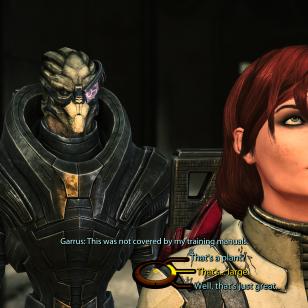 Mass Effect 1 LE_Tätä ei ollut oppaassa