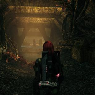 Mass Effect 1 LE_Luolastossa