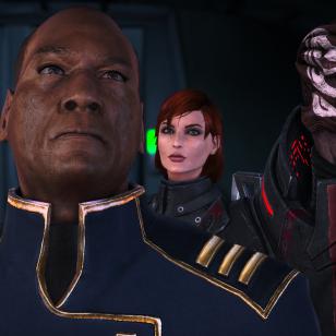 Mass Effect 1 LE_Vakavalla naamalla