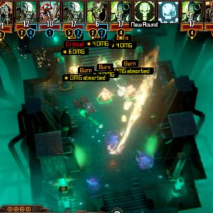 Warhammer Mechanicus liekinheitin polttaa