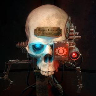 Warhammer Mechanicus pääkallo