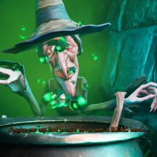 MediEvil witch