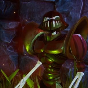 MediEvil gold armor
