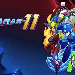 Mega Man 11 banneri