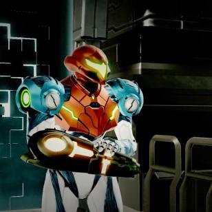 Metroid Dread Samus Aran Metroid V