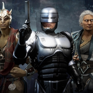 Mortal Kombat 11 Robocop ja kumppanit