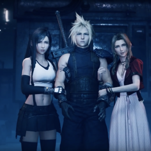 Final Fantasy VII Remake Cloud Aeris ja Tifa
