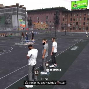 NBA 2K18 MyPark-odottelua