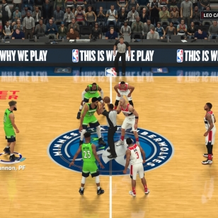 NBA 2K18 Aloitusviisikossa