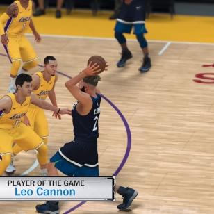NBA 2K18 Jordan player of the game