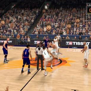 NBA 2K17: Aloituskokoonpanossa.