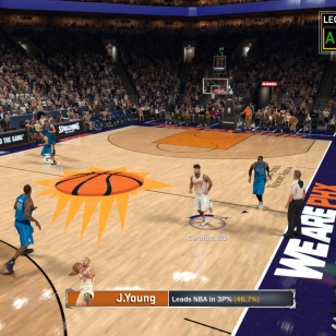 NBA 2K17: Uran ensimmäinen tripla-tupla syötön päässä.