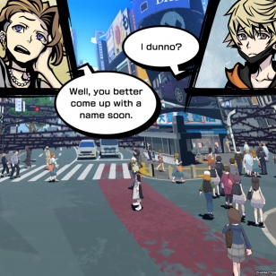 NEO: The World Ends with You_sarjakuvaa