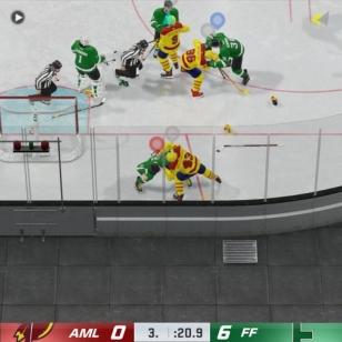 NHL 21 joukkotappelu kaukalossa