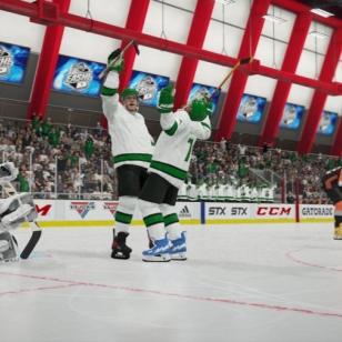 NHL 21 maali syntyy ja tuuletukset voivat alkaa