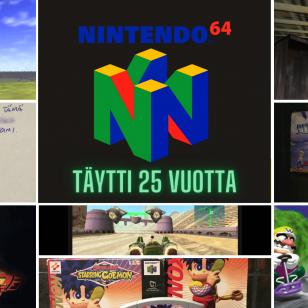 Nintendo 64 on 25 vuotta nostokuva Vol 2