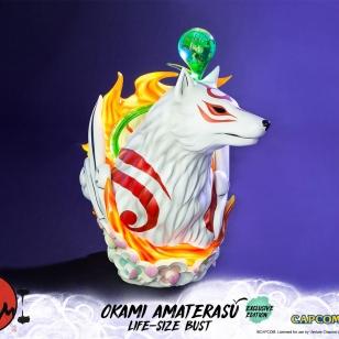Okami Amaterasu pysti