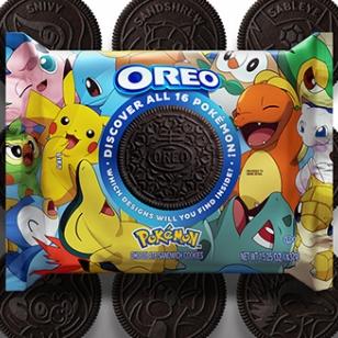 Oreo Pokémon keksejä