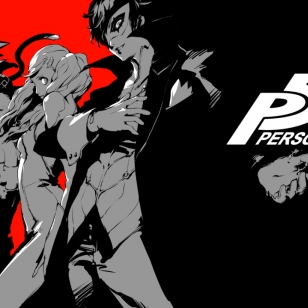 Persona 5 kansikuva