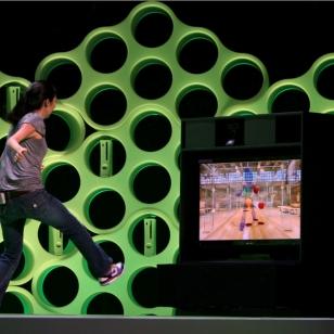 Kinect Sportsia E3-lavalla