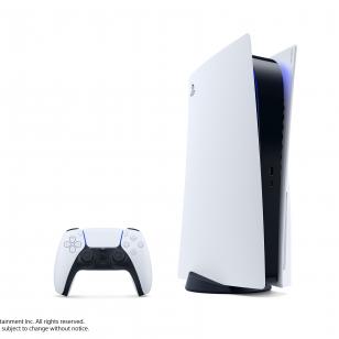 PS5 PlayStation 5 konsoli läskimalli ja DualSense-ohjain.jpg