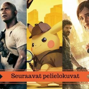 Pelielokuvat rampage pikachu banneri elokuva juttu artikkeli filmi