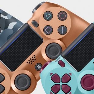 PlayStation 4 Dualshock 4 uudet värit