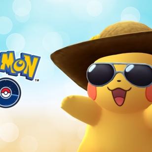 Pokémon Go 2 vuotta Pikachu aurinkolaseissa