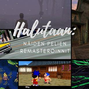 Pelien remasteroinnit remasterointi uusioversio artikkeli nostokuva