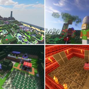Minecraft Link's Awakening Zelda