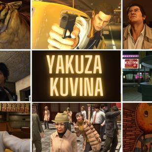 Yakuza-pelisarja kuvina nostokuva