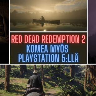 RED DEAD REDEMPTION 2 PlayStation 5:llä nostokuva