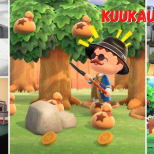 Animal Crossing: New Horizons toinen kuukausi Midgar-saarella