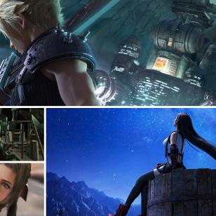 Final Fantasy VII Remake nostokuva vanhalla Cloudilla maustettuna